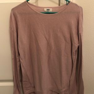 Old Navy Blush colored lightweight sweater
